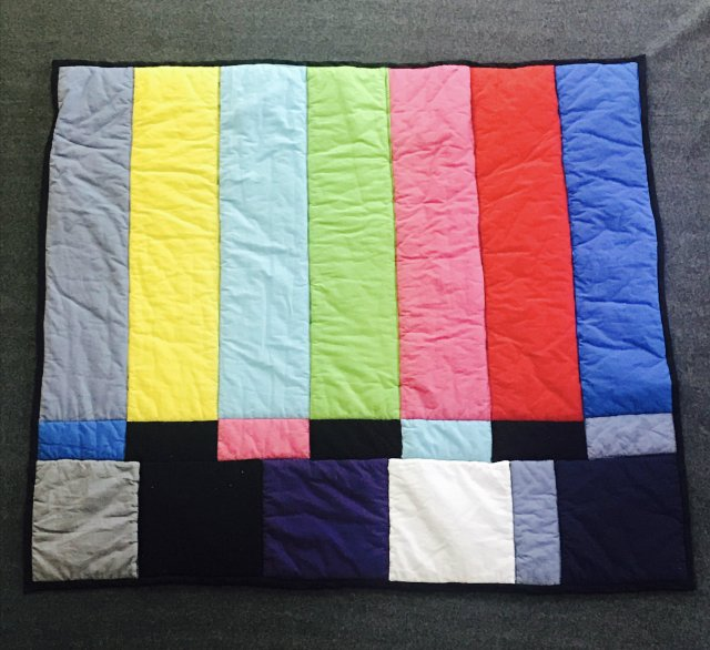 tv test quilt real